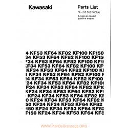 Kawasaki Fa210d Piece Rechange