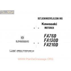 Kawasaki Fa76d Fa130d Fa210d Manuel Entretien