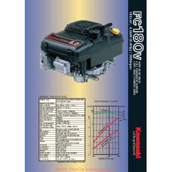 Kawasaki Fc180v Fiche Information
