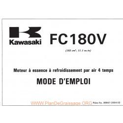 Kawasaki Fc180v Fr Manuel Utilisateur