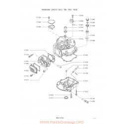Kawasaki Fc180v S Piece Rechange