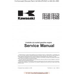 Kawasaki Fe120 Fe170 Fe250 Fe290 Fe350 Fe400 Manuel Entretien