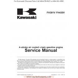 Kawasaki Fh381v Fh430v Manuel Entretien