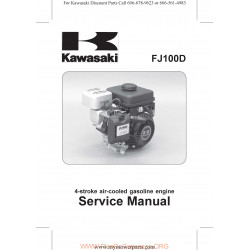 Kawasaki Fj100d 99924 2070 01 Manuel Entretien