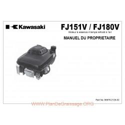 Kawasaki Fj151 180v Fr Manuel Utilisateur