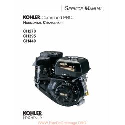 Kohler Ch270 Ch395 Ch440 Manuel Entretien