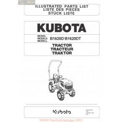 Kubota B1620 D Et Dt Piece Rechange