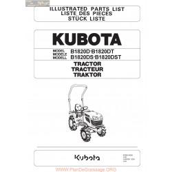 Kubota B1820 Piece Rechange