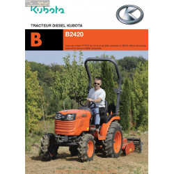 Kubota B2420 Fiche Information