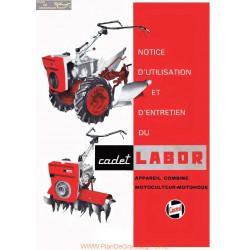 Labor Cadet Fiche Information Notice