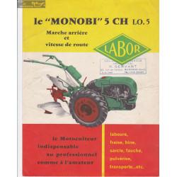 Labor Monobi 5ch Fiche Information