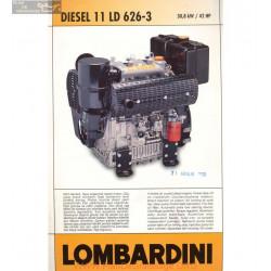 Lombardini 11 Ld 626 3 42hp 3000rpm Fiche Info
