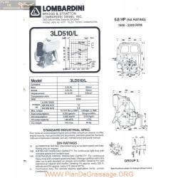 Lombardini 3 Ld 510 L 6 8hp 2200rpm Fiche Info