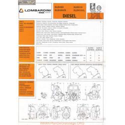 Lombardini 3 Ld Fiche Information