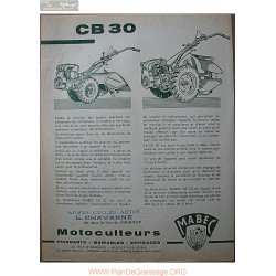 Mabec Cb 30 Fiche Information