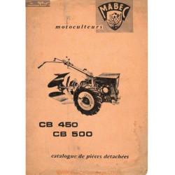Mabec Cb 450 Et 500 Piece Partielle