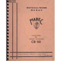 Mabec Cb 50 Manuel Entretien