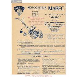 Mabec Cb2 Fiche Information