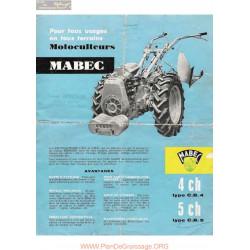 Mabec Cb4 Cb5 Fiche Information