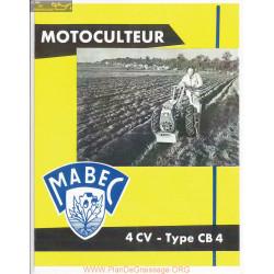 Mabec Cb4 Fiche Information