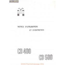 Mabec Cb400 Cb500 Manuel Utilisateur
