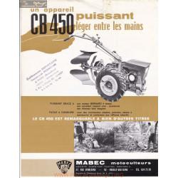 Mabec Cb450 Fiche Information