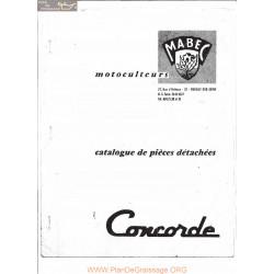 Mabec Concorde S Piece Rechange