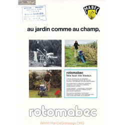 Mabec Rotomabec Fiche Information