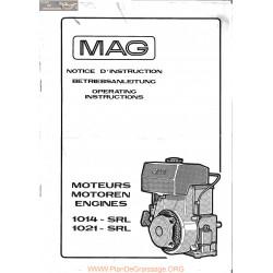 Mag 1014 1021 Srl Manuel Entretien