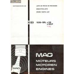 Mag 1026 Srl 119 Piece Rechange