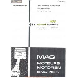 Mag 1026 Srlx 109 Piece Rechange