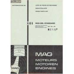 Mag 1026 Srlx 240 272 Piece Rechange
