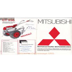 Mitsubishi Ct 312 331 332 336 Fiche Information