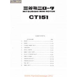 Mitsubishi Ct151 S Piece Rechange