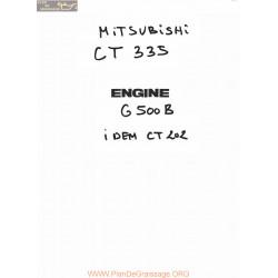 Mitsubishi Ct335 S Fiche Information