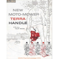Moto Mower Terra Handle 1961 Fiche Information