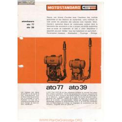 Motostandard Ato 39 Et 77 Fiche Information
