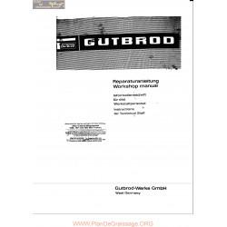 Motostandard Gutbrod 1030 1031 1032 1952 Workshop
