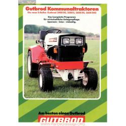 Motostandard Gutbrod 2400 2500 Fiche Information