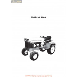 Motostandard Gutbrod 2500 Manuel Utilisateur