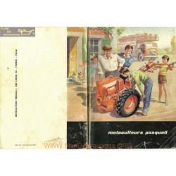 Pasquali 1965 Motoculteurs 100 Pages Fiche Information