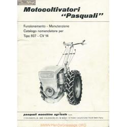Pasquali 937 Motoculteur Piece Rechange