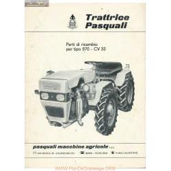 Pasquali 970 Fiche Information