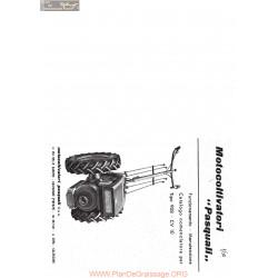 Pasquali Motoculteurs 908 Fiche Information