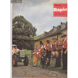 Rapid Revue Decembre 1961 Fiche Information
