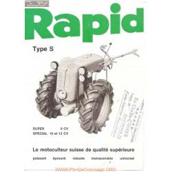 Rapid S Et Special Fiche Information