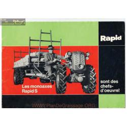 Rapid Special Brochure Fiche Information
