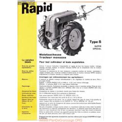 Rapid Special Fiche Information