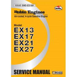 Robin Ex13 Ex17 Ex21 Ex27 D Manuel Utilisateur