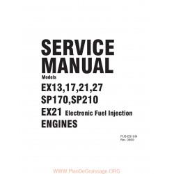 Robin Ex27 Service Manuel Utilisateur